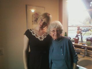 Amanda and Grandma Taffy
